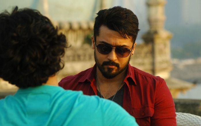 Suriya's mass intro song in Anjaan