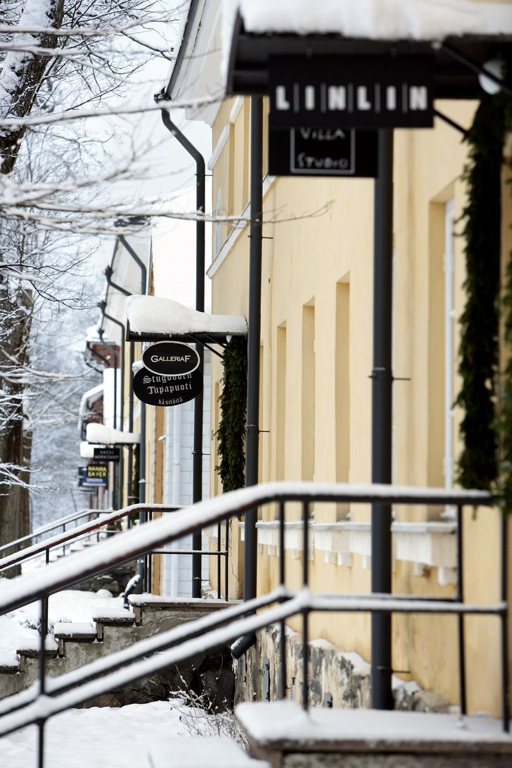 Pictoresque Fiskars, the village of artesans, designers and artists south-west of Helsinki. Worth visiting in prior to Christmas as this place is ideal for finding unique Christmas presents.
