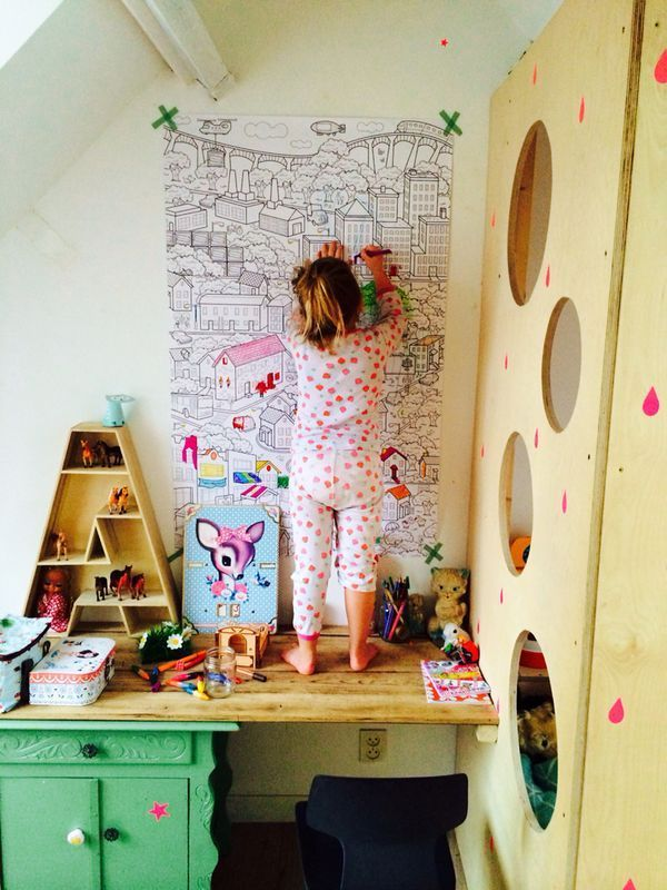 Today I want to show you fresh, vivid kids rooms. Kids have stuff, and they're not always neat. They usually love to display their artwork, their rooms are filled with toys and they loveto add stickers and posters on the wall. In real children's spaces, we mix cheaper and more expensive solutions, old and new […]