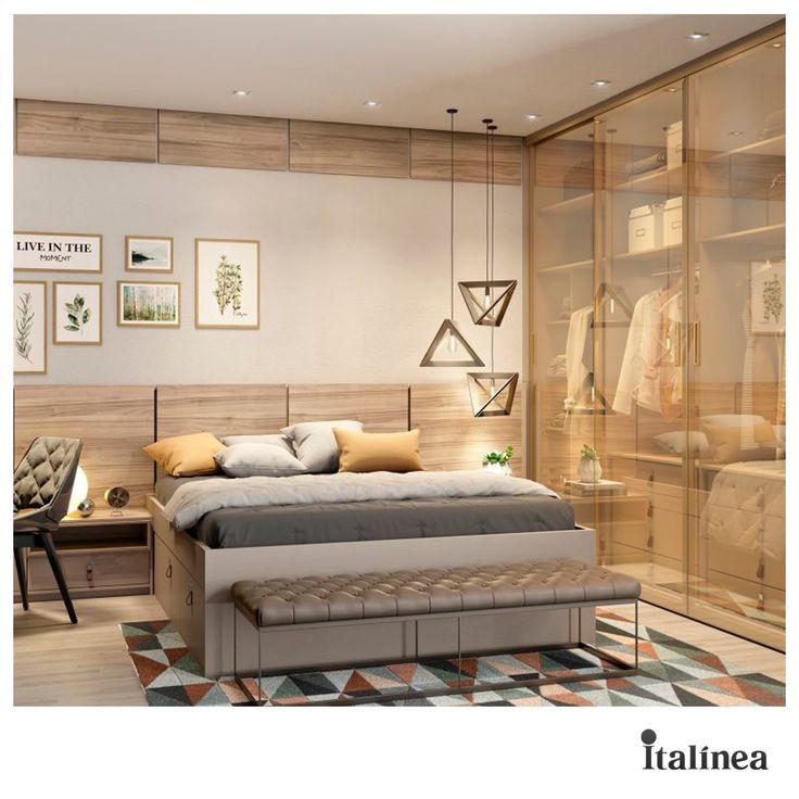 Com boas escolhas, espaço de 6 m² vira quarto de casal sem