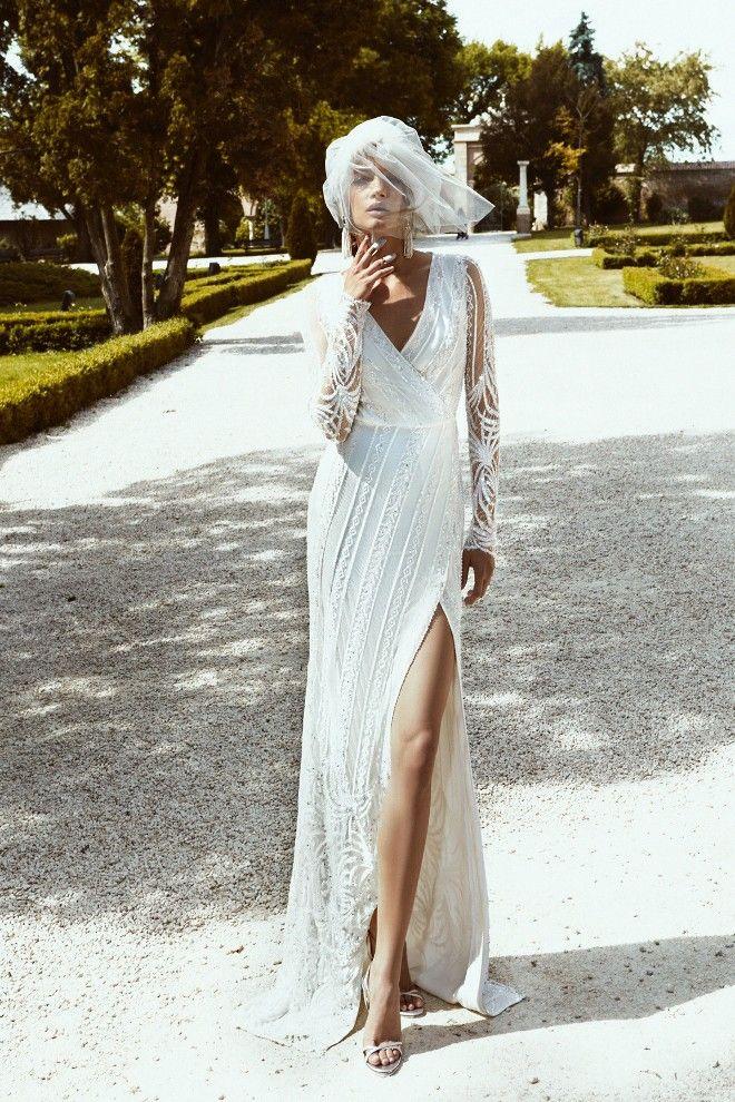Beautiful Modern Cristina Savulescu Bridal Collection