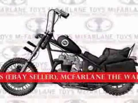 """http://youtu.be/ScxByeVQExo 2014 NEW Action Figure 5"""" McFarlane The Walking Dead TV Series 5 (DARYL DIXON & MOTORCYCLE DELUXE BOX SET)"""
