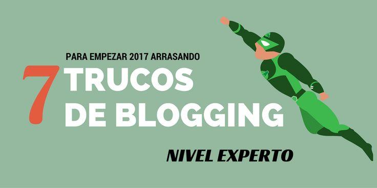 Empezar el año rompiendo todos los niveles de tu blog. Ese es el propósito de este artículo con mis mejores trucos de blogging para expertos.