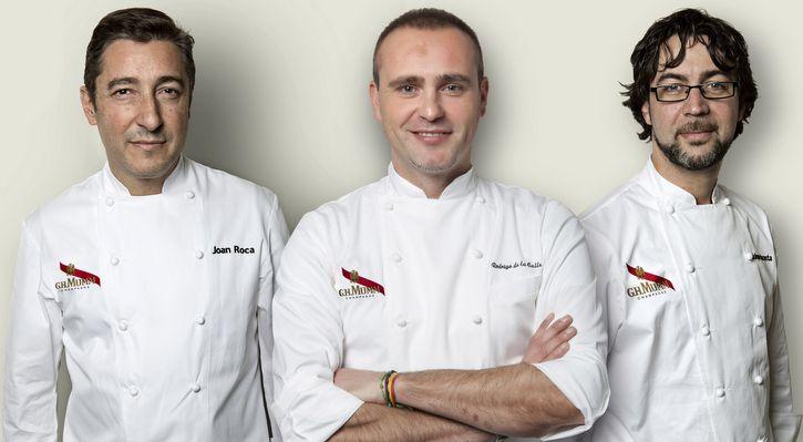 Siete estrellas Michelin para tres brunchs perfectos