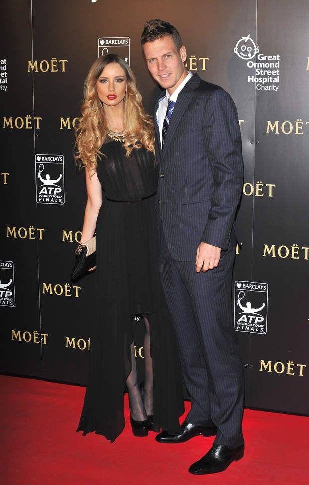 Tomas Berdych et Ester Satorova forment un couple diablement bien assorti