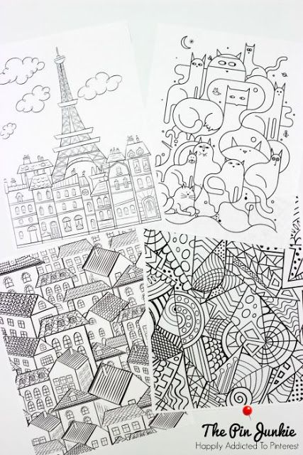 69 Best Images About Coloring On Pinterest