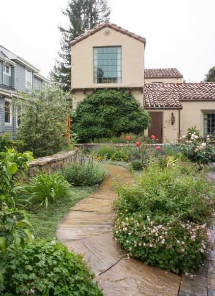 2098 best images about curb appeal on pinterest garden for Tuscan garden design ideas