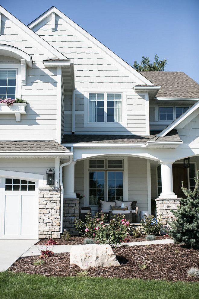 25 best ideas about exterior house colors on pinterest - Exterior paint colour combinations house ...
