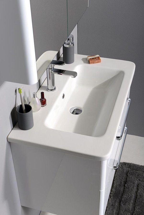 ELKE 80 nábytkové umyvadlo 80x45cm, SAPHO E-shop