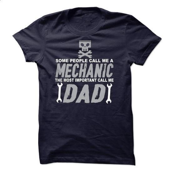 Mechanic Dad Limited Edition - t shirt design #long hoodie #zip hoodie