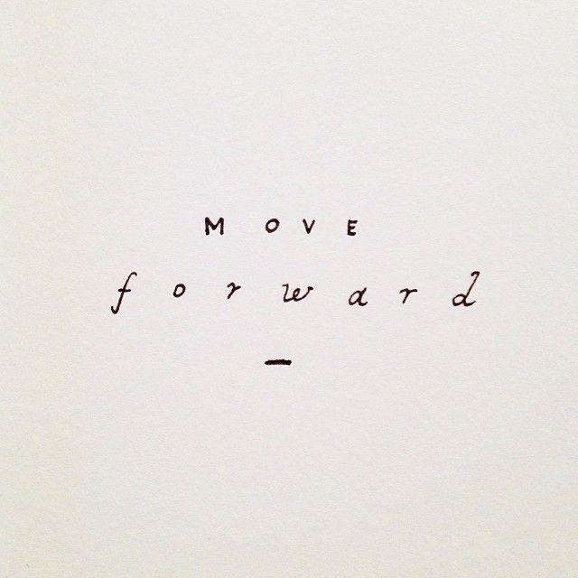 Move forward. – Theresa Günther