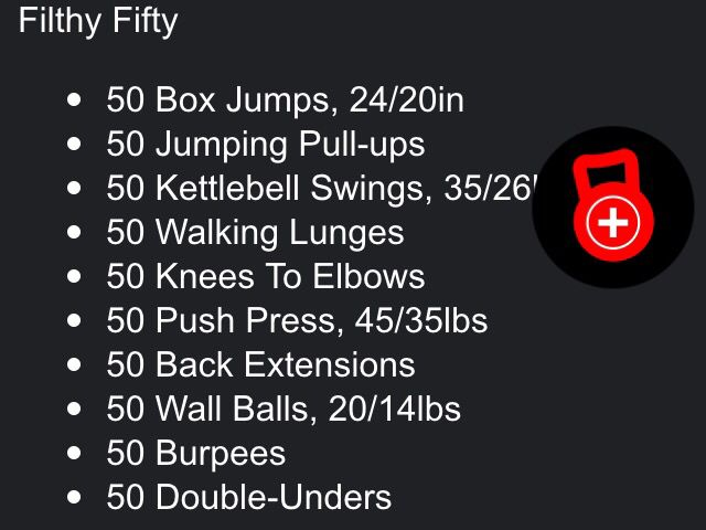 List+Of+Crossfit+Exercises