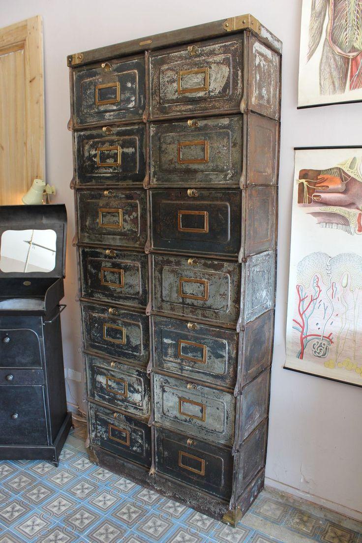 390 best industrial steel cabinets images on pinterest vintage industrial industrial. Black Bedroom Furniture Sets. Home Design Ideas