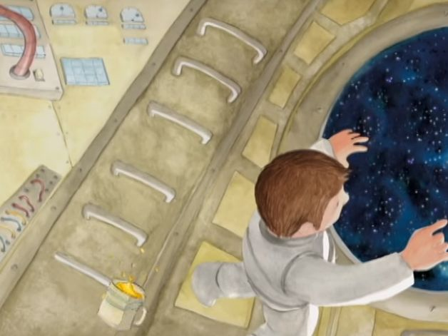 """Un court film d'animation basé sur l'ouvrage pour enfants """"Planètes en vue ! Le…"""