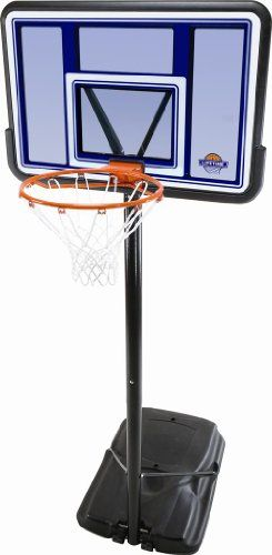 96 best images about portable basketball hoop on pinterest for Sport court basketball hoop