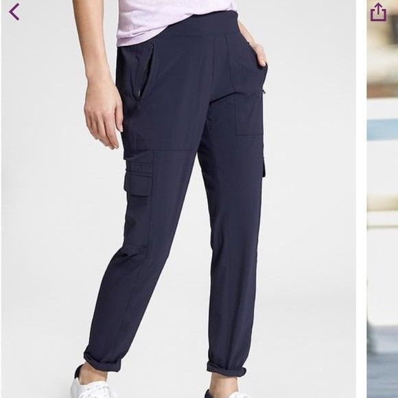 BNWT ATHLETA CHELSEA CARGO PANTS 8~ATHLETA TRAVEL LOUNGE CASUAL PANTS 8 $89~WOW #ATHLETA #PantsTightsLeggings