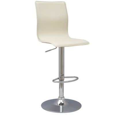 Cream 'Midnight' gas lift stool at debenhams.com