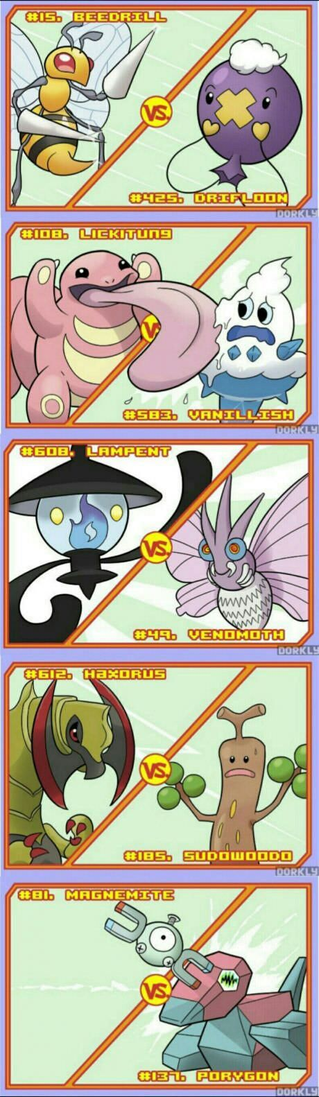 Battles that would end very fast.