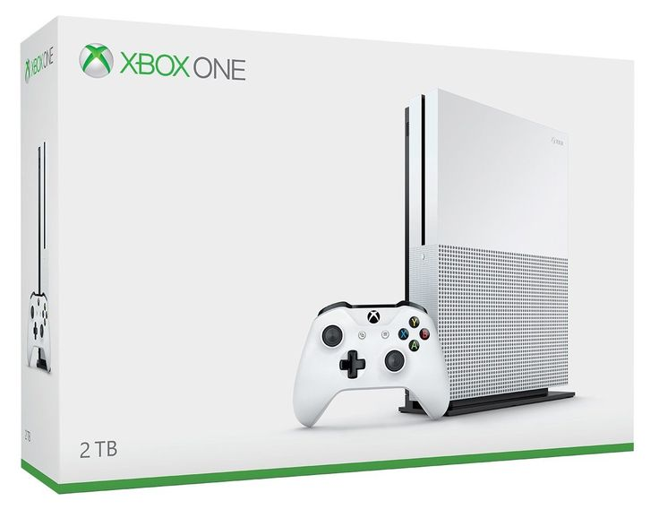 Includes: 2TB Internal Hard Drive Xbox One S Console, 1 Xbox Wireless Controller (with 3.5mm headset jack), 1 Console Stand (for vertical orientation), HDMI cable (4K Capable), AC Power cable, and a 1