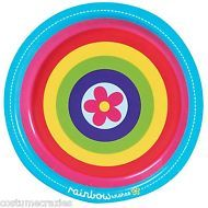 Rainbow Party Dessert/Cake Plates