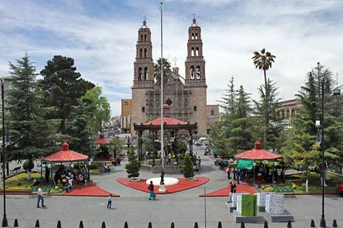 Plaza de Armas, Chihuahua, Mexico!