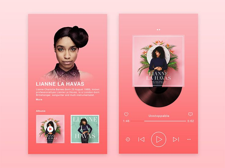 Daily UI challenge # 01 music by wang zuo