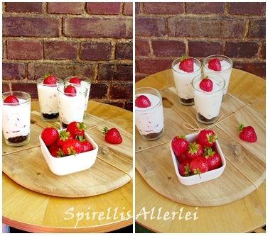 {Süße Kleinigkeiten} Erdbeer-Oreo-Dessert