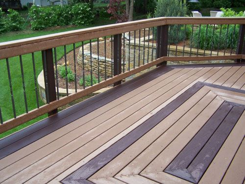 Trex decking ideas google search decks pinterest for Balcony colour combination