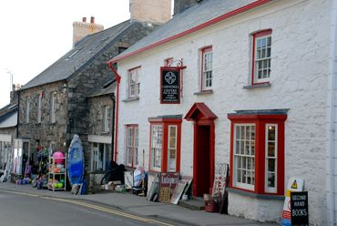 The thriving coastal town of Newport Pembrokeshire.