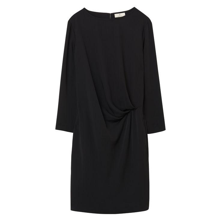 GANT Damen Drapiertes Kleid (42) Schwarz Jetzt bestellen unter: https://mode.ladendirekt.de/damen/bekleidung/kleider/sonstige-kleider/?uid=4facfd28-05f1-5fcb-a6ed-2b0397ab0813&utm_source=pinterest&utm_medium=pin&utm_campaign=boards #sonstigekleider #kleider #bekleidung #women