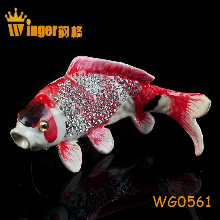 How To Make Decorated Fishing Urn Enchanting 46 Best Fish Trinket Box Decoration Images On Pinterest  Decor Review