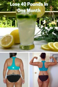 THE IS THE BEST FAT BURNING DRINK OF ALL TIME, LOSE 40 POUNDS IN 1 MONTH;