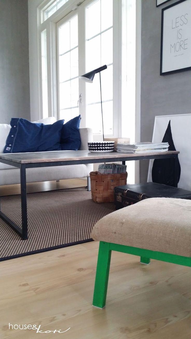 designhouseliving HOUSEkoti: Aina mahtuu joukkoon ripaus vihreää (DIY-rahi) | 1...
