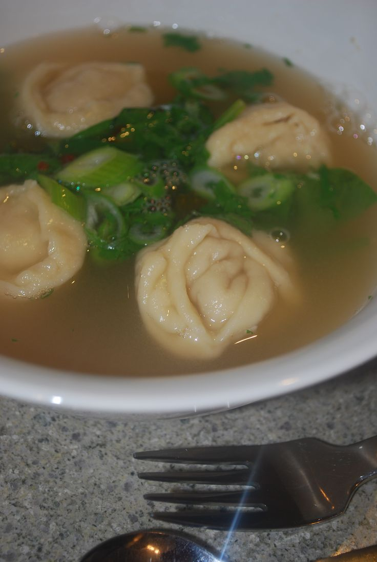 Chicken Wonton Soup.