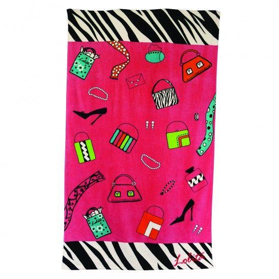 Shopaholic Too Beach Towel by Lolita