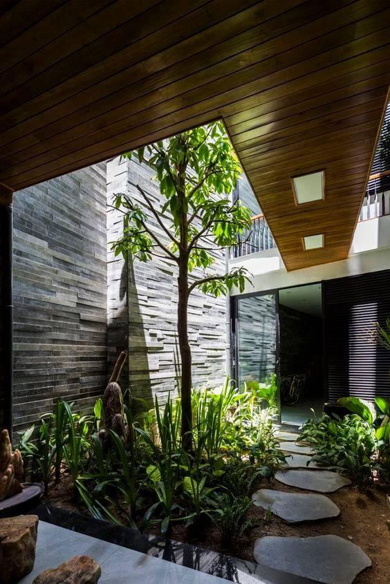 Internal Courtyard Garden Ideas