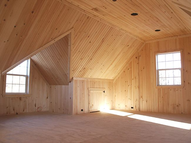 Pole Barn Homes Interior Pole Barn Interior Finishing