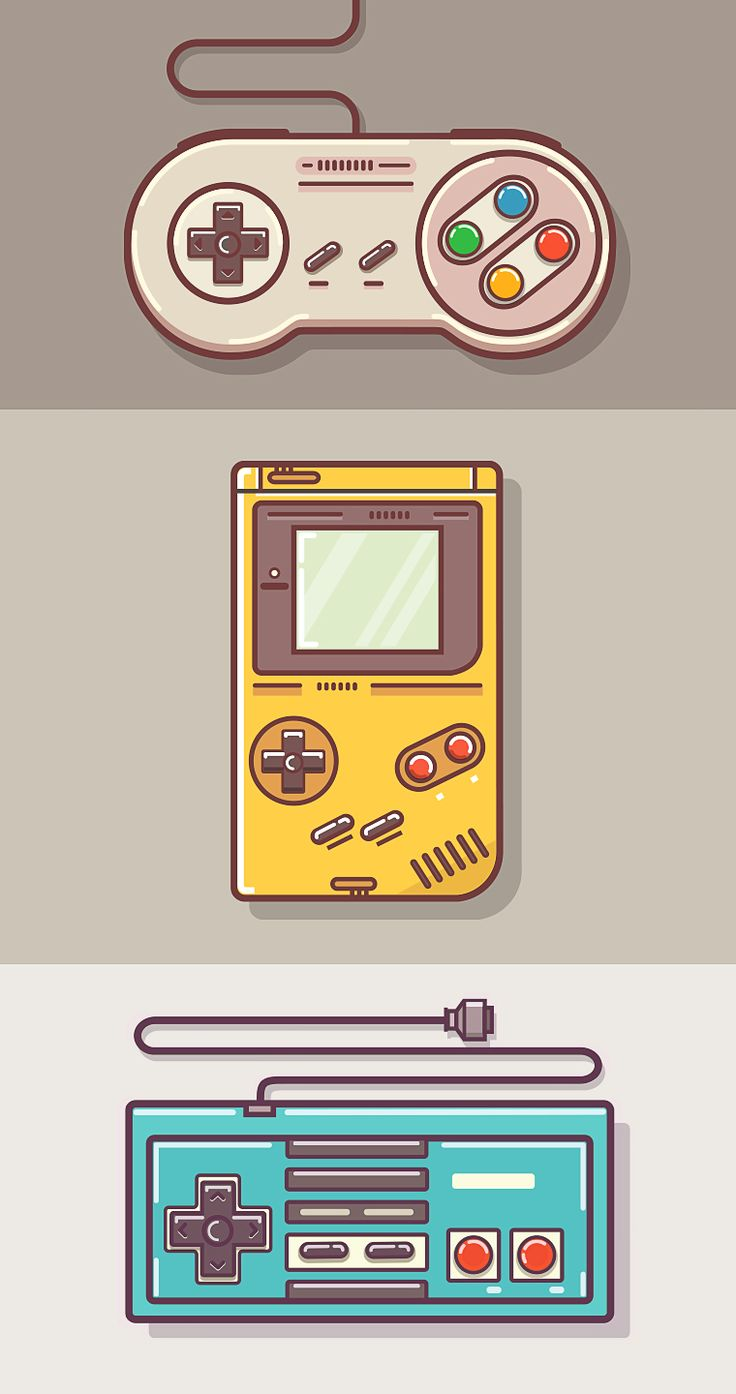 Fun classic memories...  Game Controllers - By Graphicsoulz