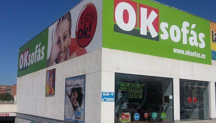 Tienda #OKSofás en #Murcia
