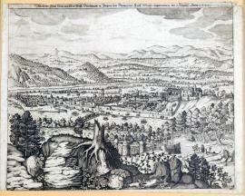 163-Darstellung der Stadt Linz, die von Ihrer fürstlichen Durchlaucht in Bayern im Namen der kaiserlichen Majestät am 4. August 1620 eingenommen wurde.