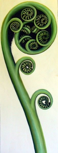 The Unfurling Fern, the Koru, new beginnings again and again!