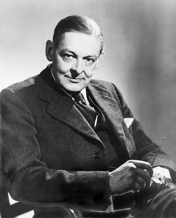 T.S. Eliot (1888-1965) American born English poet, won the 1948 Nobel Prize for Literature. 1954.