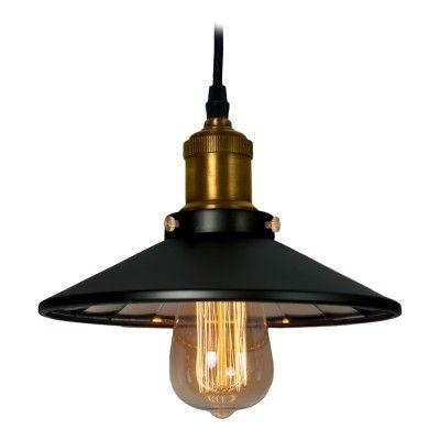 Lampa wisząca ROTTERDAM P01154BK MIR
