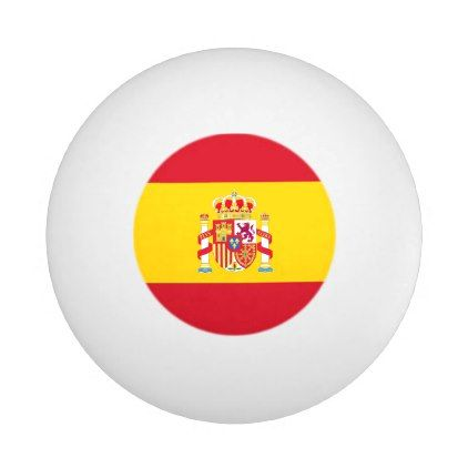 #ball table tennis Spanish flag - #country gifts style diy gift ideas