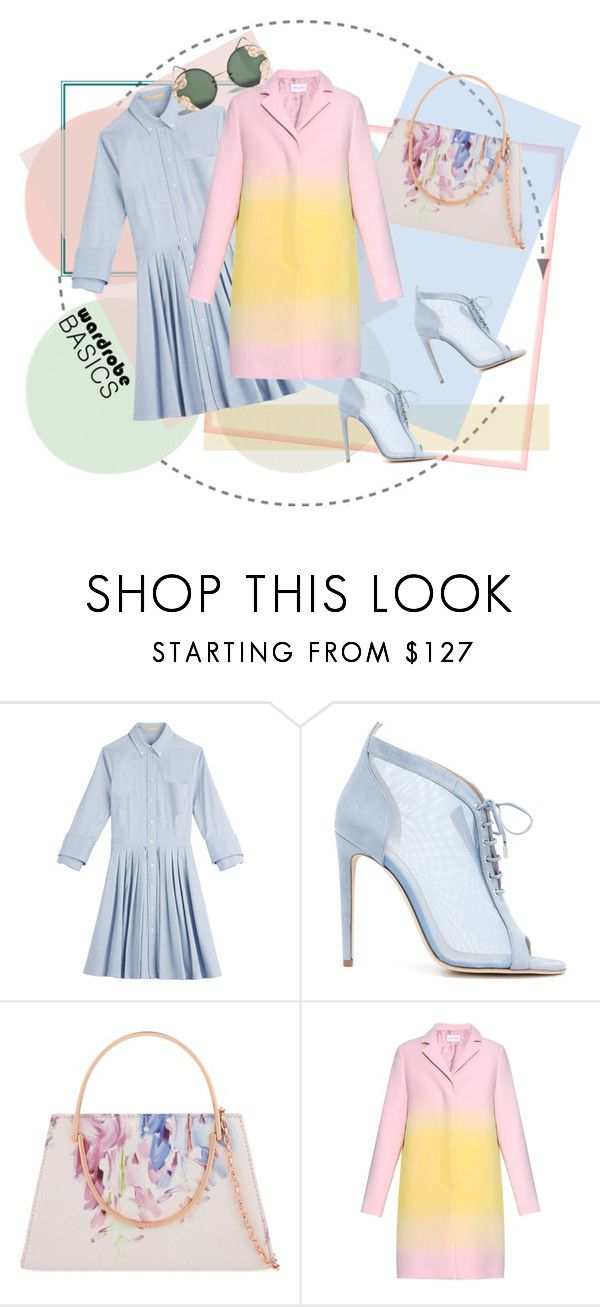 """""""Wardrobe basics"""" by epuran-tania ❤ liked on Polyvore featuring Michael Kors, Chloe Gosselin, Ted Baker, Jonathan Saunders and Spitfire"""
