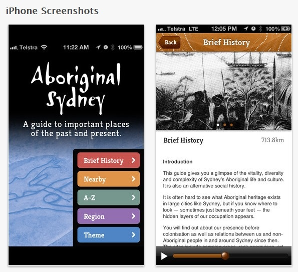 Discover the history & culture of Aboriginal Sydney with these self-guided audio-supported tours, covering heritage & rock art sites, as well as contemporary Australian Indigenous places of significance.