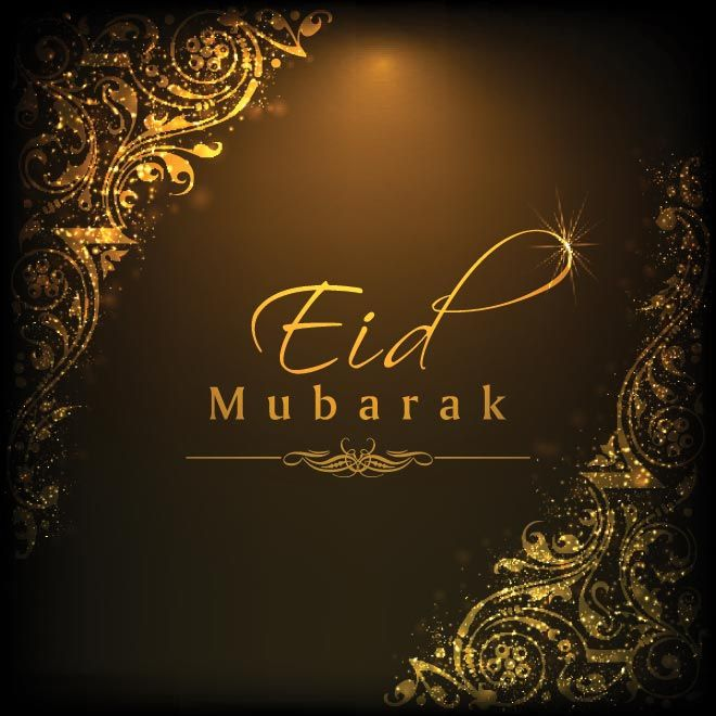 Eid Mubarak!! The blessings of God lighten up your way and lead you the Happiness, Success & peace.