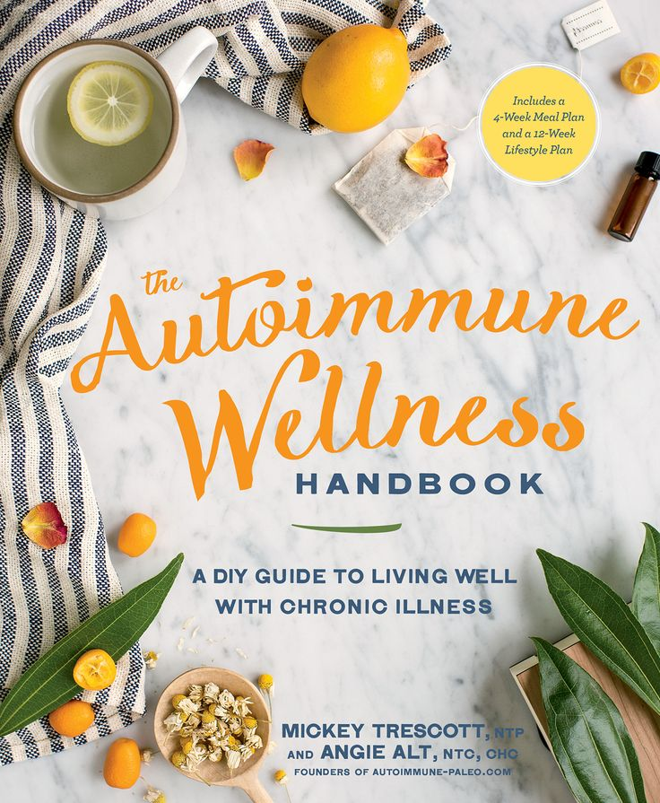 "The way we view and treat autoimmune disease is undergoing a revolution, big time. It's not just about food. It's about having a whole-body, whole-life approach to disease management. Our new book, ""The Autoimmune Wellness Handbook"" guides you toward the empowerment and self-discovery you need in order to take your healing to the next level. The book will be released November 1, 2016, and NOW IS THE TIME to pre-order!"