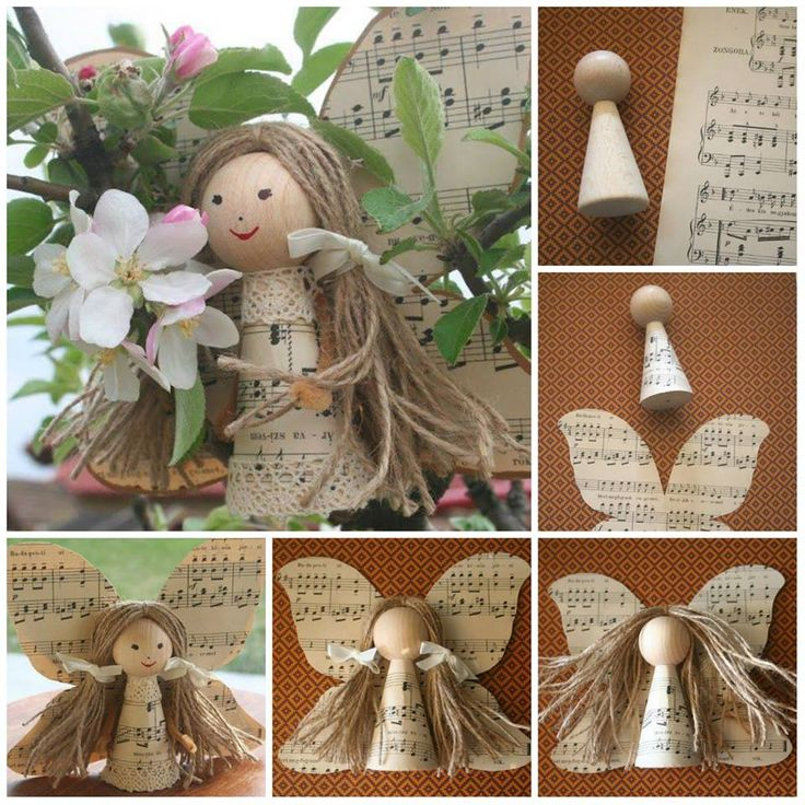 jak na výrobu anděla