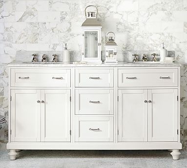 Custom Classic Modular Double Sink Console Vanity style for master bathroom18 best 66  Sink Vanity images on Pinterest   Double sinks  Bath  . 66 Double Sink Vanity. Home Design Ideas
